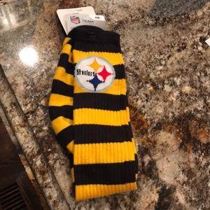 Long Steelers socks